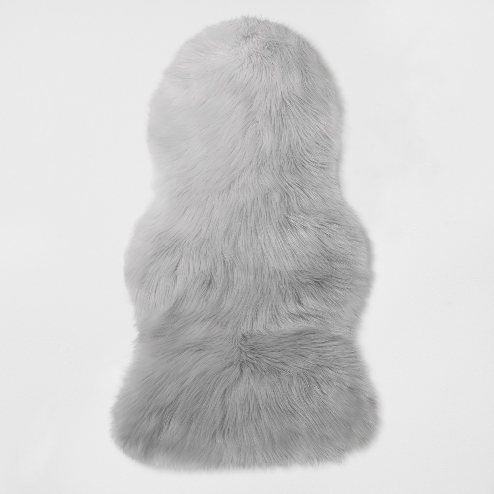 Faux Fur Pelt Gray - Project 62, Tan