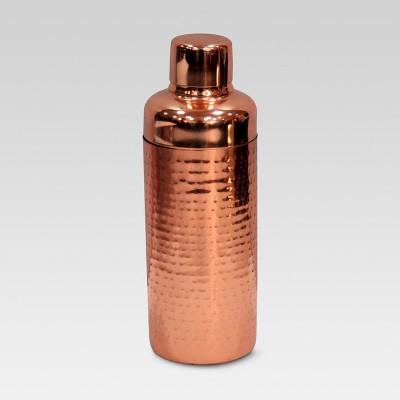 Hammered Cocktail Shaker Copper - Threshold™