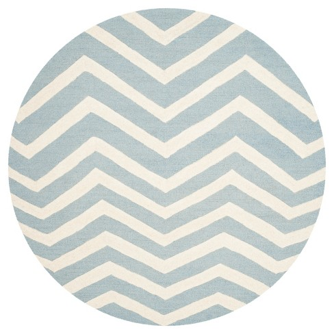 Safavieh Wilshire Area Rug - Blue / Ivory ( 6' Round ) - image 1 of 3