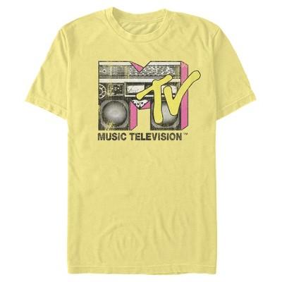 Men's MTV Retro Boombox Logo T-Shirt