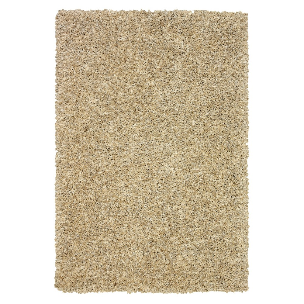 8'x10' Dream Supersoft Shag Area Rug Sand (Brown) - Addison Rugs