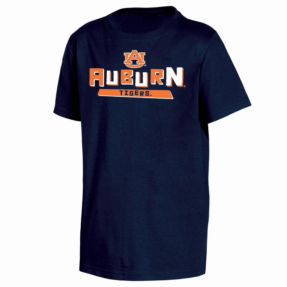 NCAA Toddler Boys' 2pk T-Shirt Auburn Tigers - 2T, Multicolored