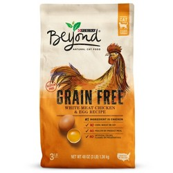Purina Beyond Grain Free White Meat Chicken & Egg Recipe Dry Cat Food - 3lbs