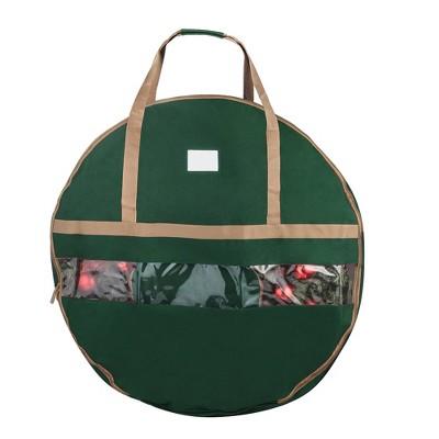 "Elf Stor Ultimate Green Holiday Christmas Storage Bag for 48"" Wreath"