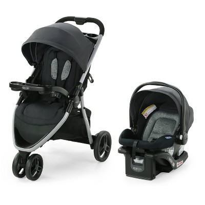Graco Pace 2.0  Travel System with SnugRide Infant Car Seat - Oakton