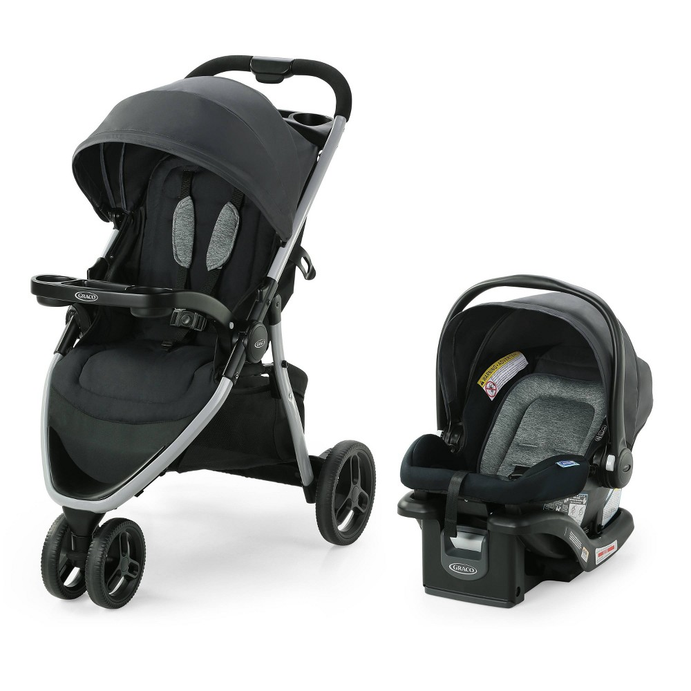 Graco Pace 2 0 Travel System With Snugride Infant Car Seat Oakton