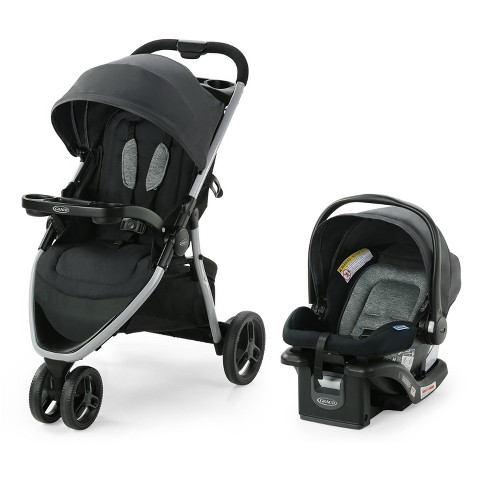Graco Pace 2.0  Travel System with SnugRide Infant Car Seat - Oakton - image 1 of 4