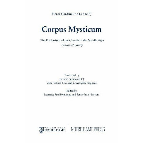 Corpus Mysticum - (Faith in Reason) by  Henri Cardinal de Lubac (Paperback) - image 1 of 1