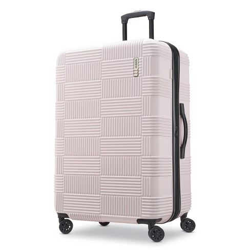 "American Tourister 28"" Checkered Hardside Suitcase - Pink - image 1 of 10"