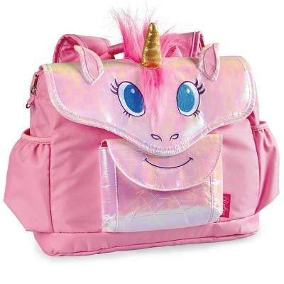 """Bixbee 10"""" Kids' Unicorn Backpack - Pink"""