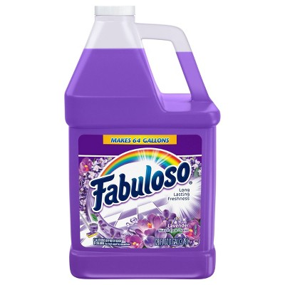 Fabuloso All Purpose Cleaner Concentrate for Multi Surface Action - Lavender - 128 fl oz