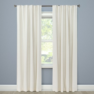 Blackout Curtain Panel Aruba White 4  - Threshold™