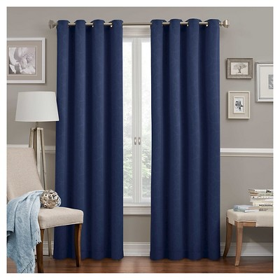 Round and Round Thermawave Blackout Curtain Panel - Eclipse