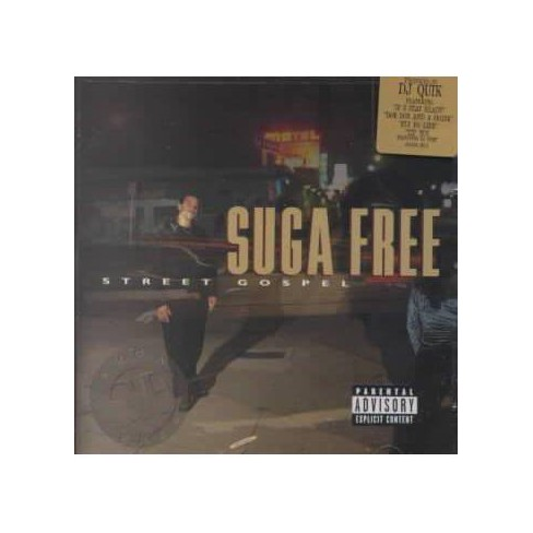 Suga Free - Street Gospel (CD) - image 1 of 1