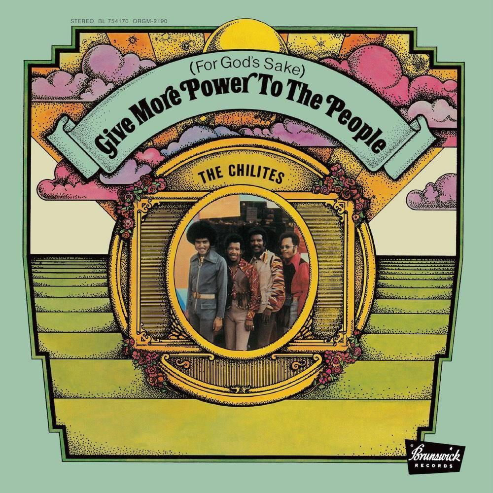 Chi Lites For God S Sake Give More Power To The Vinyl