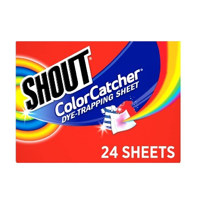 Stain Removers: Shout Color Catcher
