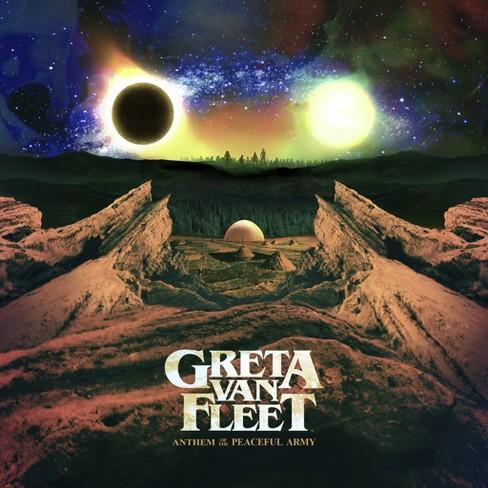 Greta Van Fleet Anthem Of The Peaceful Army (CD) - image 1 of 1