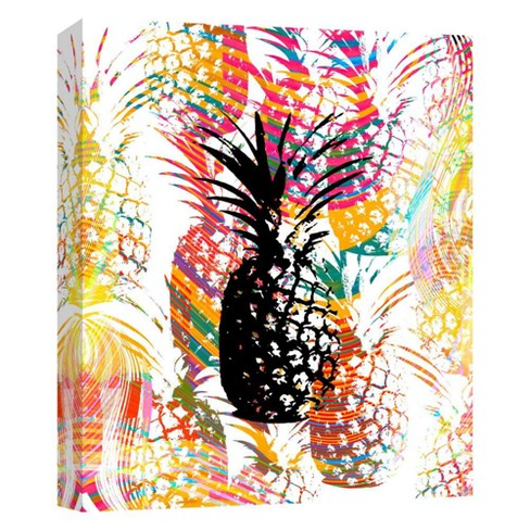 "Pineapple Decorative Canvas Wall Art 11""x14"" - PTM Images - image 1 of 1"