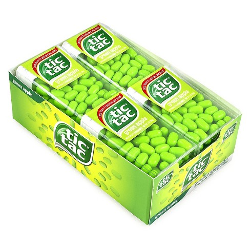 Tic Tac Green Apple Singles Mint Candies - 12ct - image 1 of 1