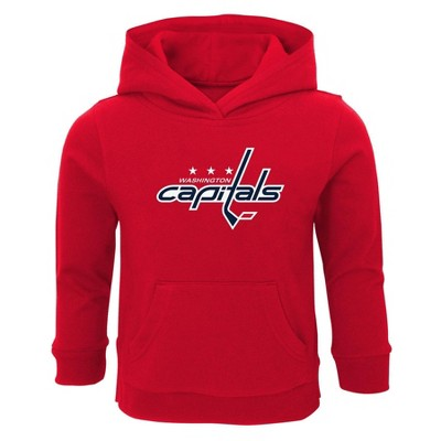 NHL Washington Capitals Toddler Boys' Poly Core Hoodie