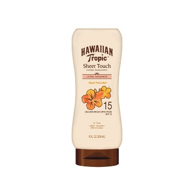 Hawaiian Tropic Sheer Touch Ultra Radiance Lotion Sunscreen - SPF 15 - 8oz