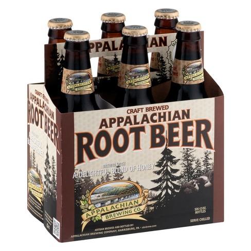 Appalachian Brewing Rootbeer - 6pk/12 fl oz Glass Bottles - image 1 of 1