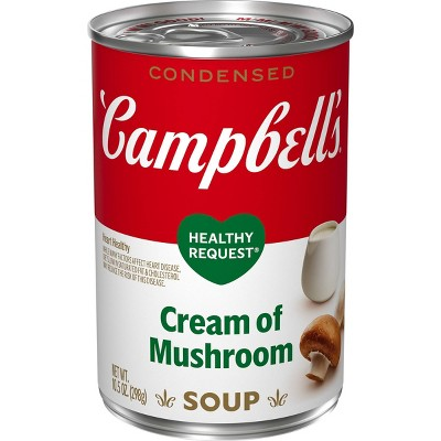 Campbell's Condensed Healthy Request Cream of Mushroom Soup - 10.5oz