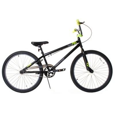 Dynacraft Tony Hawk Series 720 Teen/Adult Lightweight Freestyle BMX Bike with Adjustable Seat, 24-Inch, Matte Black