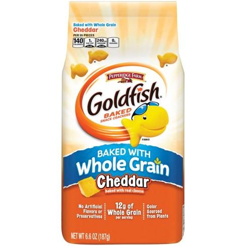 Pepperidge Farm Goldfish Whole Grain Cheddar Crackers - 6.6oz - image 1 of 4