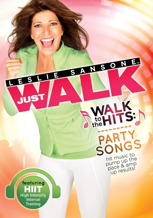 Leslie sansone:Walk to the hits party (DVD) - image 1 of 1