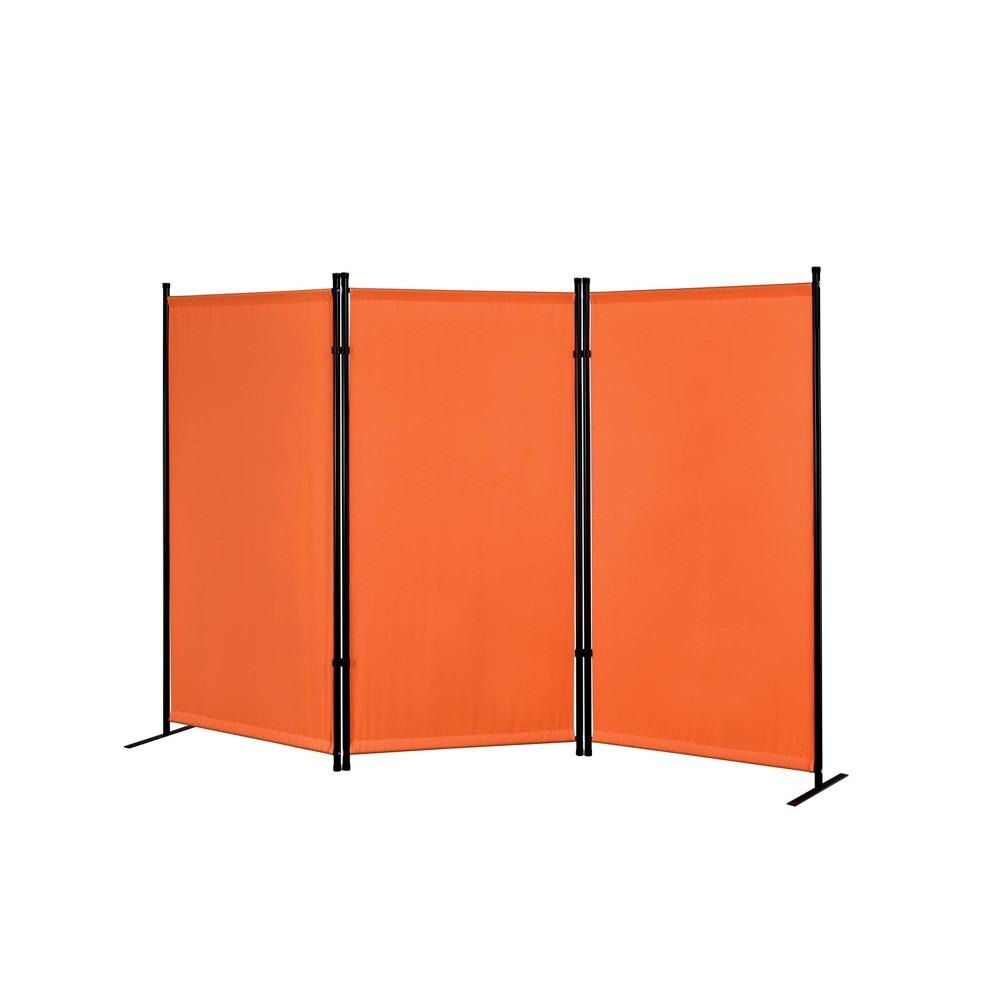 Image of Galaxy Outdoor/Indoor Room Divider Orange - Proman Products