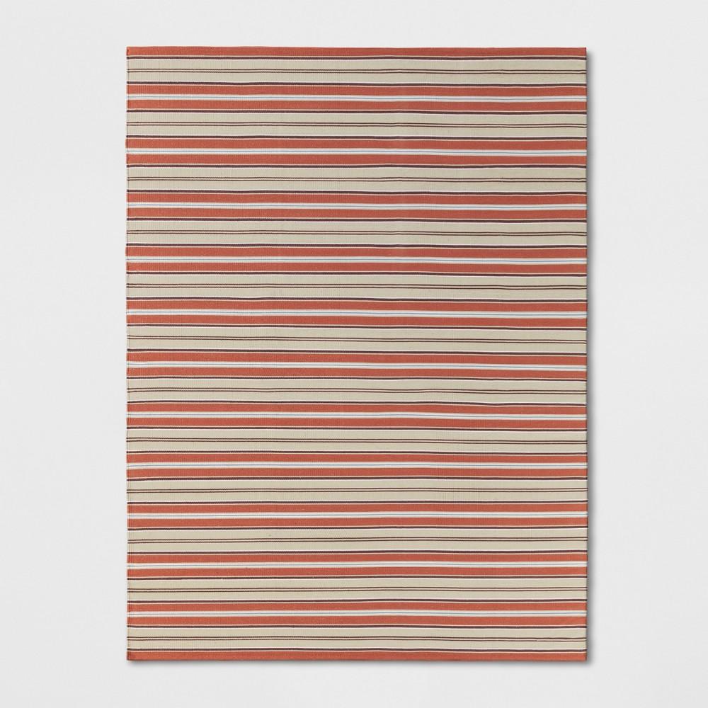 9'X12' Stripe Woven Area Rugs Gray - Threshold