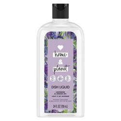 Love Home & Planet Lavender & Argan Oil Dish Liquid - 24 fl oz
