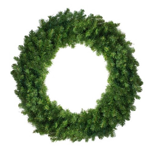 "Northlight 36"" Unlit Canadian Pine Artificial Christmas Wreath - image 1 of 1"