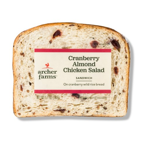 Cranberry Almond Chicken Salad Sandwiches - 5.7oz - Archer Farms™ - image 1 of 1