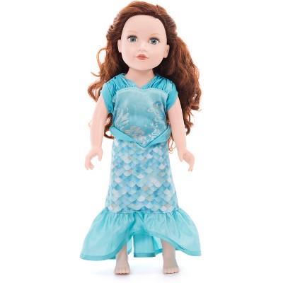 Little Adventures Doll Dress - Mermaid