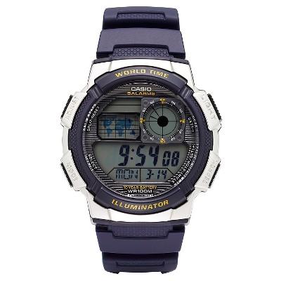 Casio Men's World Time Watch - Blue (AE1000W-2AVCF)