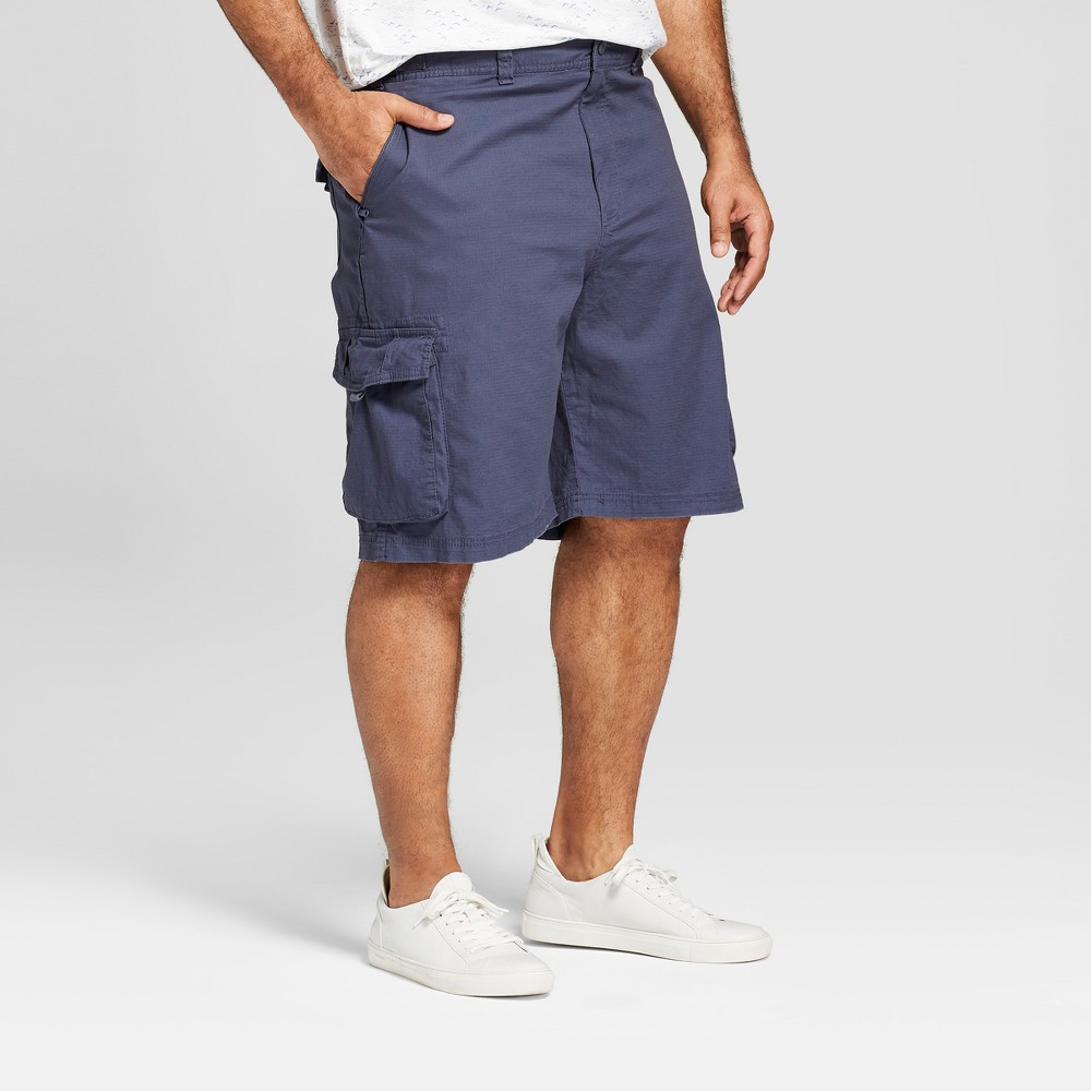 Men's Big & Tall 11 Utility Cargo Shorts - Goodfellow & Co Blue 52