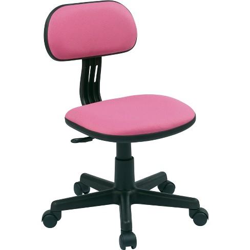 Task Chair Pink - OSP Home Furnishings - image 1 of 6