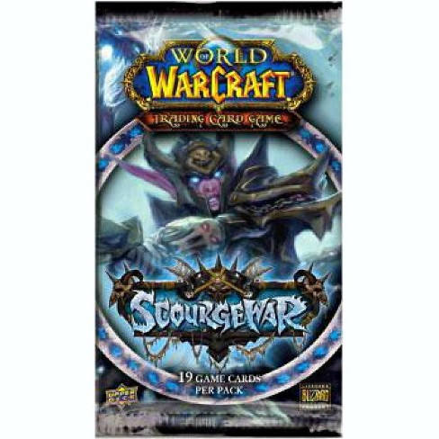 World of Warcraft Trading Card Game Scourgewar Booster Pack - image 1 of 1