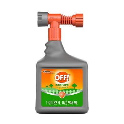OFF! Backyard Pretreat Bug Control Spray - 32oz/1ct