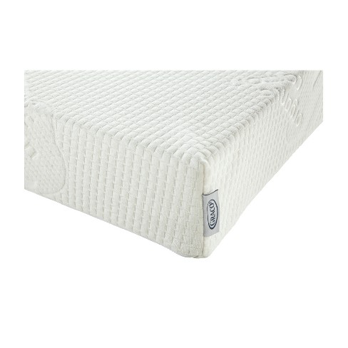 Graco Natural Organic Foam Crib And Toddler Bed Mattress Off White