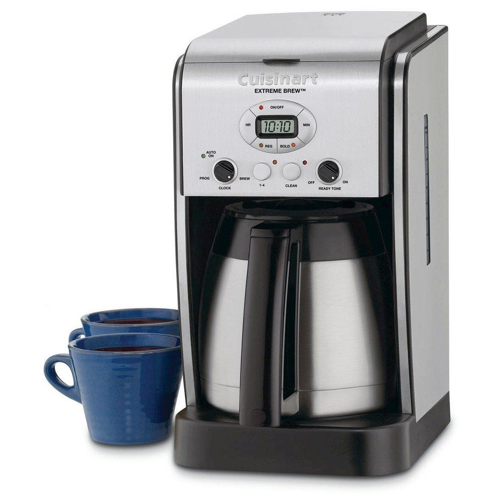 Cuisinart Extreme Brew 10 Cup Programmable Coffee Maker – Stainless Steel Dcc-2750, Grey/Black 21398007