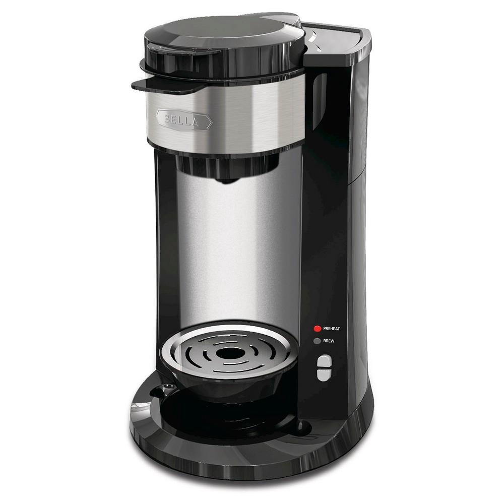 Image of Bella Single Serve Dual Brew Coffee Maker, Black