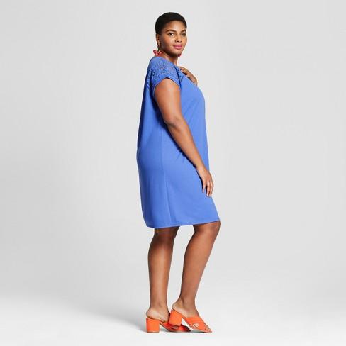 53aca94b215 Women s Plus Size T-Shirt Dress - Ava   Viv™   Target