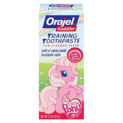 Orajel ™ Toddlers' Training Toothpaste - My Pony