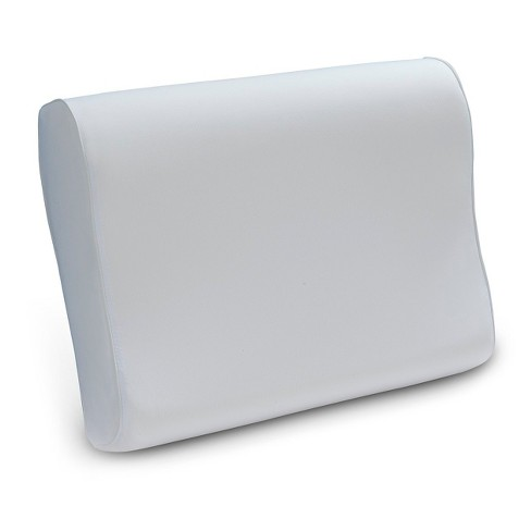 comfort revolution contour memory foam bed pillow white standard target - Comfort Revolution Pillow