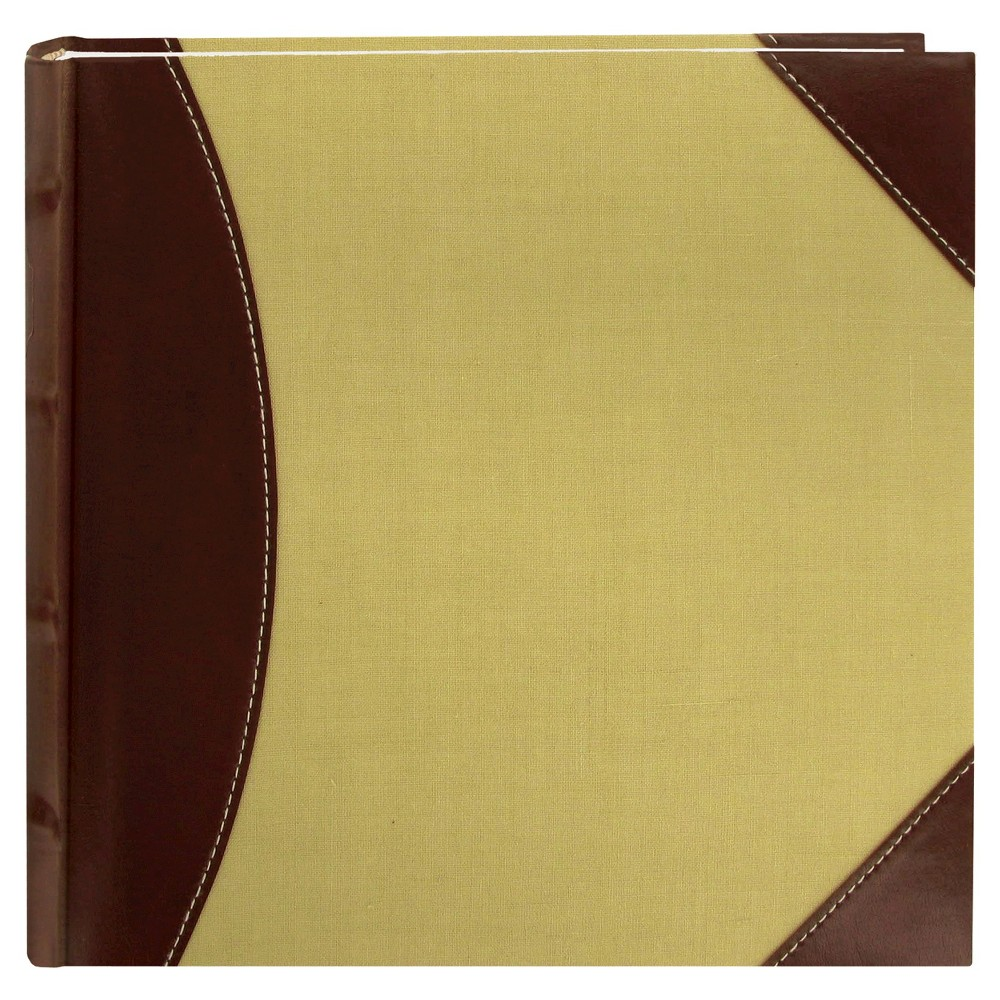 Image of High Capacity 2-Up Photo Album - Brown/Beige