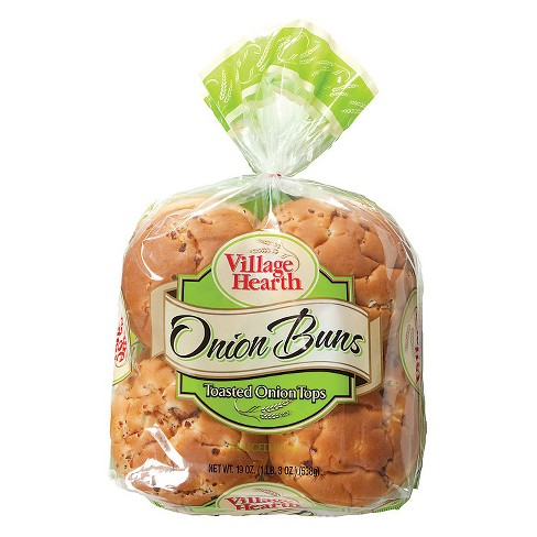 Village Hearth Onion Buns - 8ct/19oz - image 1 of 1