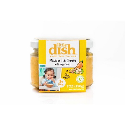 Little Dish Macaroni & Cheese with Veggies Baby Meals - 7oz